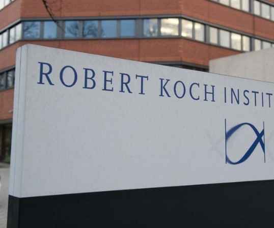 The Robert Koch Institute reports more than 1,000 deaths
